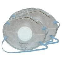 3 Stück Staubmaske FFP2 Atemschutzmaske Maske Feinstaubmaske, Fein mit Ventil