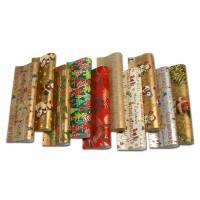 Geschenkpapier Weihnachten verschiedene bunte Motive 2 x 0,7 m