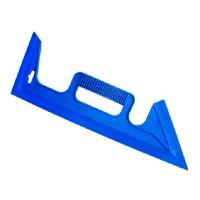 Tapeten-Andrückspachtel Tapezierspachtel Tapetenspachtel Spachtel blau 40 cm