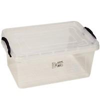 Aufbewahrungsbox 8,5 L Lagerbox Box mit Deckel, 15,5x36x23cm Stapelbox