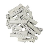 100 Stück Kunststoff Dübel 5 mm Allzweckdübel, Flossendübel Universaldübel
