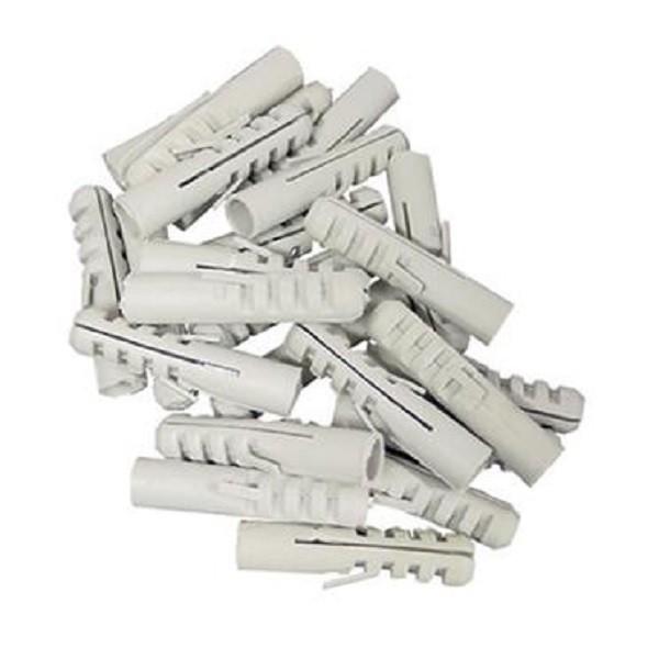 25 Stück Kunststoff Dübel 12mm Allzweckdübel, Flossendübel Universaldübel