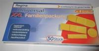 50 Stück Heftpflaster 4 Größen Wundpflaster, Pflaster Strips hautfarben