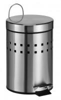 Mülleimer Treteimer Abfalleimer Badeimer 3 Liter Kosmetikeimer Müllbehälter