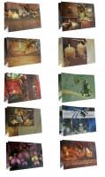 Geschenktüte Querformat Fotodruck Weihnachtskugeln - Groß 38 x 26 x 10 cm