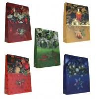 Geschenktüte versch. Weihnachtsmotive - Jumbo 45 x 33 x 10 cm