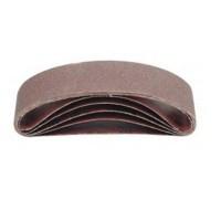 5 Stück Schleifband, Gewebe Schleifbänder 75 x 533 Körnung P-120 Bandschleifer