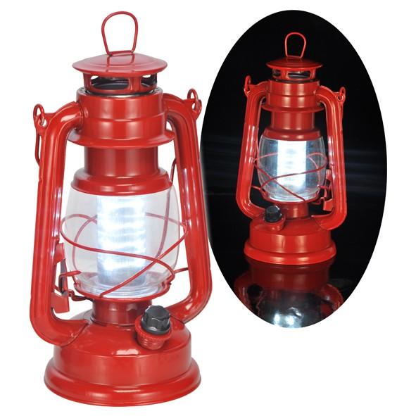 LED Laterne Strumlaterne Camping Laterne Campingleuchte Retro Laterne mit LED