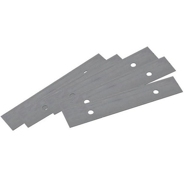 5 x Glasschaber Klingen 90 mm breit Glasschaberklingen für Art. 500121