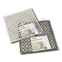 Spülbeckeneinlage, quadratisch: 28 x 28 cm, Spülbeckenmatte Spülbecken Einlage