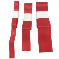 Rolle Schnur Geschenkband Strängchen rot verschiedene Breiten 54 Stück