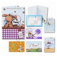 Glückwunschkarten Sortiment MYLO Handmade Karten 11,5x17 cm; 410 Karten
