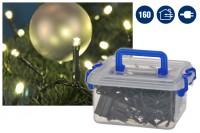 LED Lichterkette für Außen, Weihnachten, Beleuchtung 160 LED's