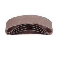 5 Stück Schleifband, Gewebe Schleifbänder 75 x 533 Körnung P-80 Bandschleifer