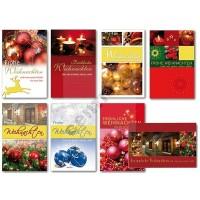 1 Glückwunschkarte Weihnachten Grußkarte Karte Weihnachtskarte 11,5x17,5 cm