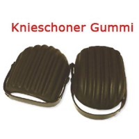 1 Paar Weichschaum Knieschoner Gummi in Schalenform Knieschützer Kniepolster