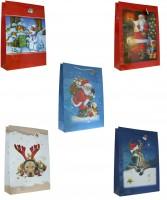 Geschenktüte Weihnachten Weihnachtsmotive XXXL - Jumbo 70 x 50,5 x 18 cm