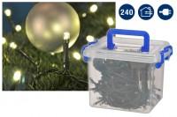 LED Lichterkette für Außen, Weihnachten, Beleuchtung 240 LED's
