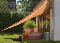 Sonnensegel Sonnendach Sonnenschutz Regenschutz Windschutz Dreieck 5x5x5 m