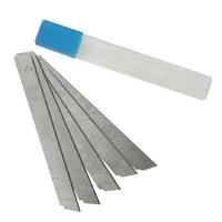 5 Stück Abbrechklingen Set 5-tlg. 9 mm, Abbrech Klingen für Teppichmesser